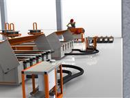 Технологическая линия по производству световых опор св Производственное предприятие Интэк производит и поставляет технологические линии под ключ для, Ачинск - Строительные материалы