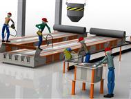Баймак: Технологическая линия по производству световых опор св Производственное предприятие Интэк производит и поставляет технологические линии под ключ для