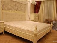 Кровати из ясеня и березы на заказ Привлекательность заказа мебели в спальную комнату заключается в том что дизайн кровати будет соответствовать вкусу, Барнаул - Мебель для спальни
