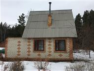 Челябинск: СНТ Курчатовец Продам сад в СНТ Курчатовец , 8сот. Двухэтажный дом, с печкой и камином. В пристройке гараж и веранда, без внутренней отделки. Подача