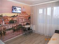 Краснодар: Студия на ГМР в доме бизнес -класса Сдаю на сутки и на часы уютную и чистую квартиру-студию с новой мебелью и ремонтом в доме бизнес - класса. Для удо