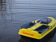 Краснодар: Прикормочный Кораблик карповый Camarad speed Новый, напрямую от производителя.   Кораблик для завоза прикормки и снастей Camarad speed yellow    1.