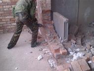 Демонтажные работы в Липецке и области, Организация выполнит профессиональные работы по демонтажу, с использованием профессионального инструмента, в Л, Липецк - Ремонт, отделка (услуги)