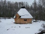 Москва: Гриль Беседка Summerhouse 12 Общая площадь 12, 2 м2.   Рассчитан на 14-16 человек.   Конструкция имеет 8 граней.   Материал стен блок-хаус из северной