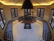 Москва: Гриль Беседка Summerhouse 9 Описание гриль беседки  Общая площадь 9, 5 м2.   Рассчитан на 8-10 человек.   Конструкция имеет 6 граней.   Материал стен