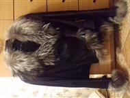 Тюмень: Продаю кожаную женскую куртку Продам женскую кожаную куртку с мехом на осень-весну. Мех чернобурка, цвет черный. Размер 46-48. В отличном состоянии.